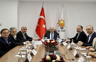 Yıldırım, Türkiye özel sektör havacılık işletmeleri derneği üyelerini kabul etti