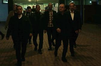Fatih Terim maçın ardından babası için Adana'ya koştu