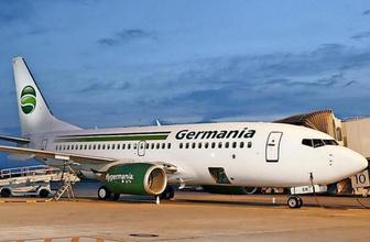 Alman hava yolu şirketinden kötü haber iflas bayrağını çekti