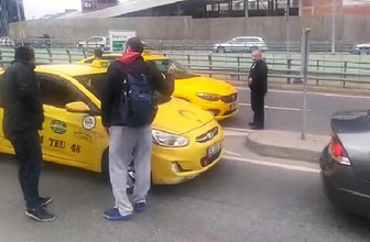 Pişkin taksici 'pes' dedirtti! Hem suçlu hem güçlü