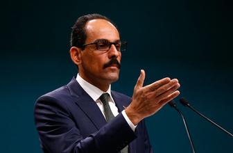 İbrahim Kalın'dan Macron'un soykırım kararına sert tepki