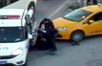 İstanbul'da taksiciyi deli eden müşteri şoför fenalık geçirdi