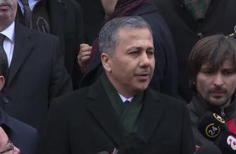 İstanbul Valisi Ali Yerlikaya'nın açıklaması