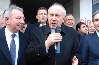 Muharrem İnce: Atatürk'ün partisine küsülmez