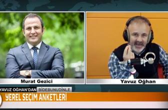 Gezici anketi gerilimi! Murat Gezici canlı yayında Yavuz Oğhan'ı dumur etti