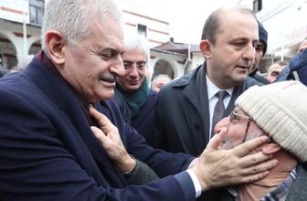 Binali Yıldırım Beykoz'da vatandaşlarla buluştu