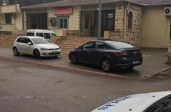Gaziantep'te polis otosu ağaca çarptı: 1 şehit 1 yaralı