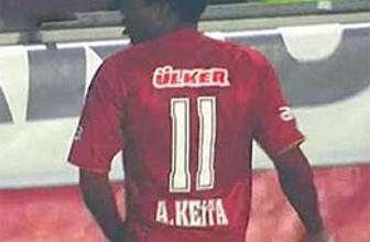 Keita Nouma'nın o hareketini yaptı!