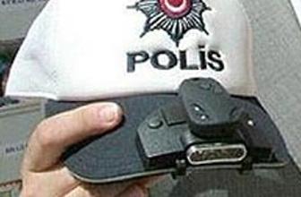 Polisler kameralı şapka takacak