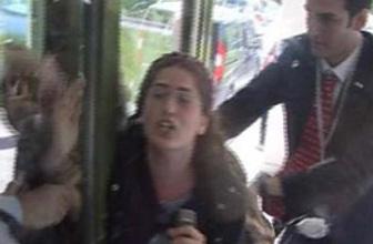 İTÜ'de müsteşara yumurtalı protesto