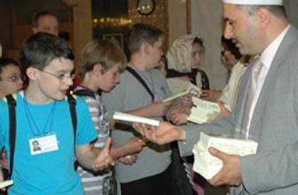 Yabancı öğrencilerden cami ziyareti