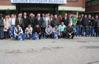 Erzurum İstanbullu gençleri ağırladı