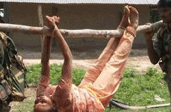 Hindistan'da insanlık dışı muamele