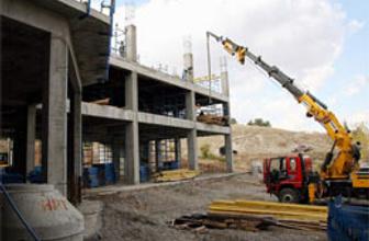 Yurt inşaatı hız kesmeden sürüyor