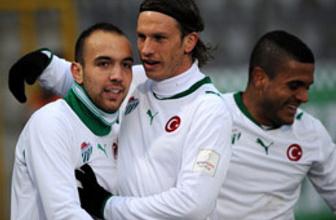 Miller Bursaspor'u zirveye uçurdu
