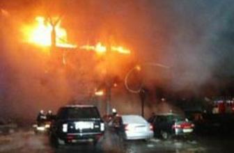 Zeytinburnu'nda korkutan patlama