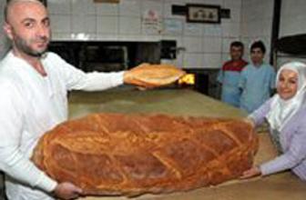 Dev ekmek görenleri şaşırttı!