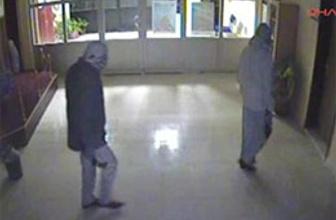 Satırlı hırsızlar okulda (video)