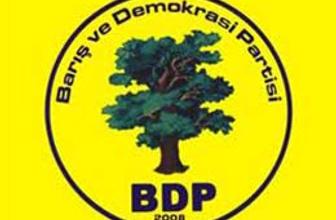 BDP'de bu şehirlere listede yer yok