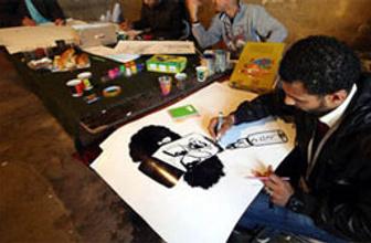 Bahreyn'de karikatürlü muhalefet