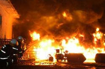 Antalyada yangın paniği