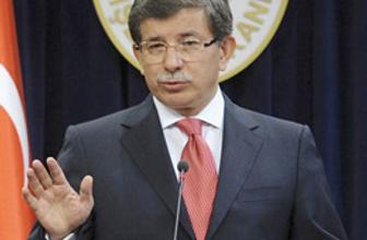 Davutoğlu da BM'yi eleştirdi