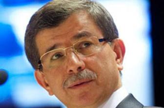 Davuoğlu: Suriye uluslar için tehdit!
