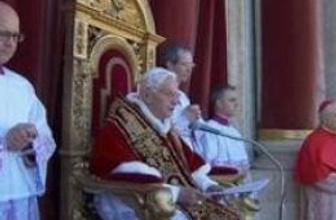 Papa 16. Benediktus: Suriye'de dökülen kan son bulsun