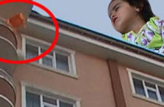 7. kattan düştü, burnu bile kanamadı