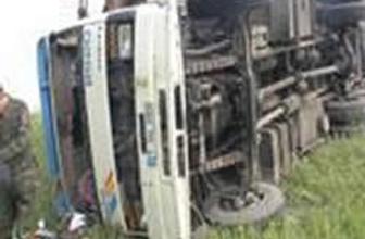 Hindistanda korkunç kaza