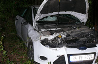 Kastomonu'da kaza: 1 ölü 2 yaralı