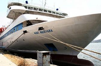 'Mavi Marmara' Gazze'ye gidiyor