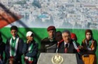 Mahmud Abbas Batı Şeria'da tezahüratla karşılandı