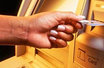 ATM'de akıl almaz kaza
