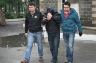 Önce kameraya, sonra polise yakalandılar