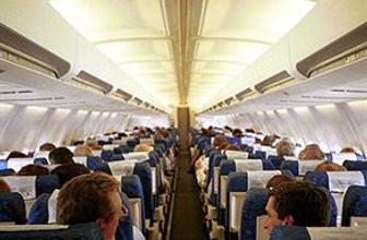 Uçakta mastürbasyon şoku!