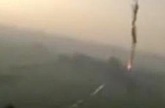 19 kişinin öldüğü balon yere böyle çakıldı