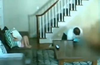 Eve giren hırsız kadına bakın ne yaptı?