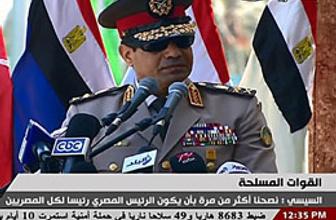 Sisi'den çok konuşulacak gaf!