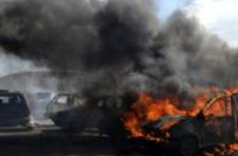 Türkiye sınırına yakın İdlib'de patlama