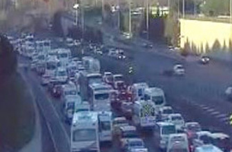 İstanbul'da trafik kabusuna devam