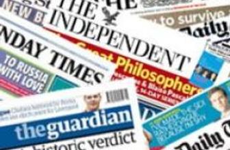 22 Ekim İngiltere basın özeti