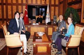 Mübadillerden Başkan Yazıcı'ya Teşekkür Ziyareti