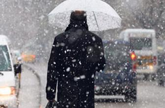 Dikkat kar ve soğuk hava geliyor!