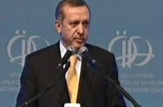 Erdoğan'dan şöforlere esprili mesaj