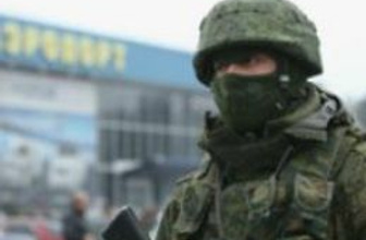 'Rus askeri araçları ve helikopterleri' Kırım'da