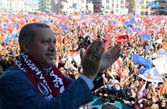 Erdoğan teşekküre gidiyor! İşte o iki şehir