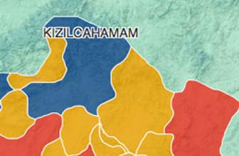 Ankara Kızılcahamam seçim sonuçları 2014