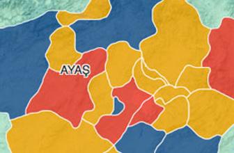 Ankara Ayaş seçim sonuçları 2014
