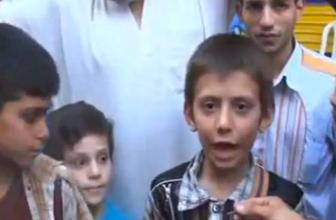 IŞİD çocukları böyle eğitiyor! İZLEYİN